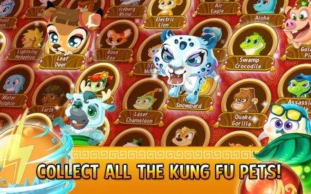 взлом Kung Fu Pets на андроид