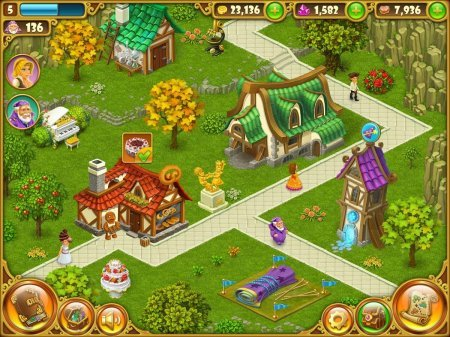 взломанная Township – город и ферма
