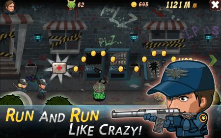 Скачать SWAT and Zombies Runner