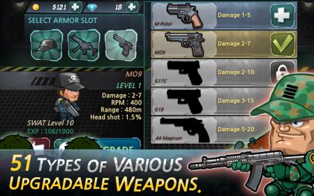 мод SWAT and Zombies Runner на андроид