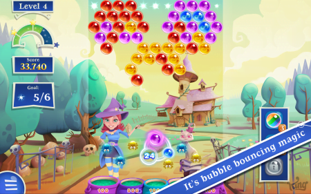 Bubble Witch 2 Saga на андроид