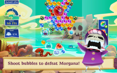 взлом Bubble Witch 2 Saga