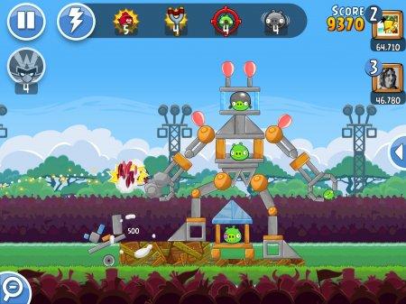 взломанная Angry Birds Friends