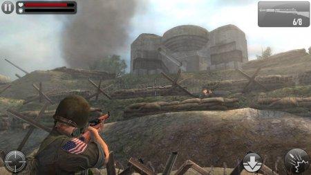 взломанная Frontline Commando