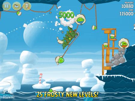 мод Angry Birds Rio на андроид