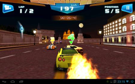 взломанная Быстрые гонки 3D - Fast Racing