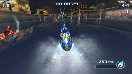 взломанная Гонки водных мотоциклов 3D