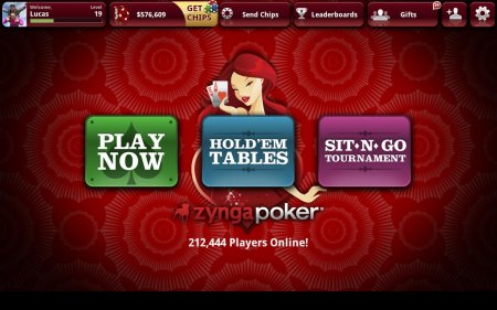 Zynga Poker для андроид