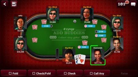 Zynga Poker бесплатно