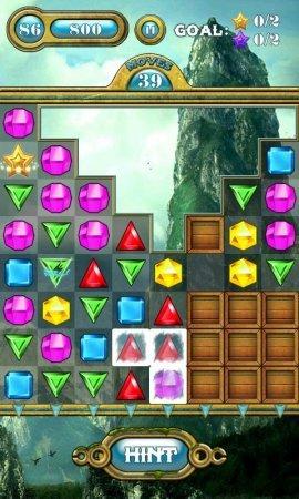 Драгоценных камней Jewels Saga на андроид