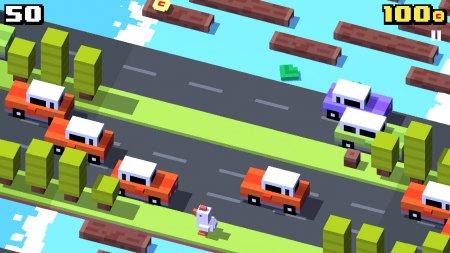Мод Crossy Road на андроид