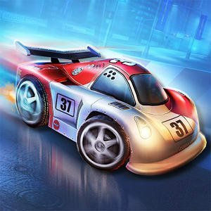 Mini Motor Racing WRT на андроид