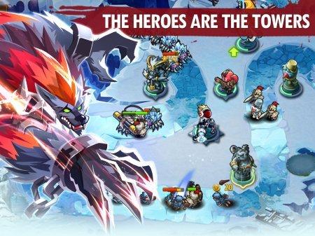 Мод Magic Rush: Heroes для андроид