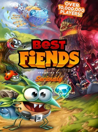 Мод Best Fiends на андроид
