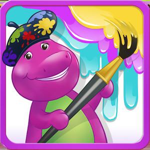 Color with Barney на андроид