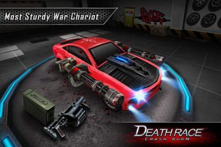Мод Death Race: Crash Burn для андроид