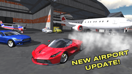 Мод Extreme Car Driving Simulator для Android