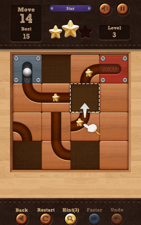 Мод Roll the Ball: slide puzzle для Android
