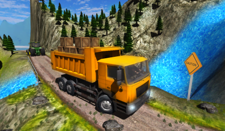Мод Truck Driver Cargo для Android
