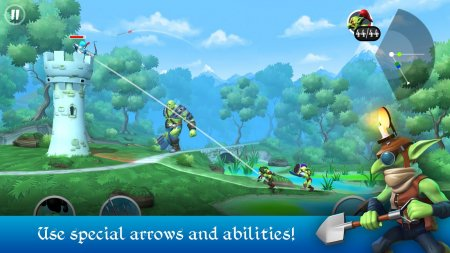Мод Tiny Archers для Android