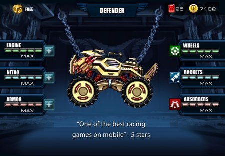 Мод Mad Truck Challenge для Android