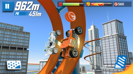 Мод Hot Wheels: Race Off для Android