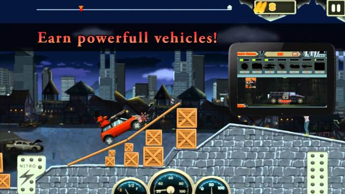 Monster Dash Hill Racer на Android