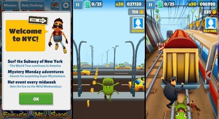 Скачать Игру На Андроид Subway Surfers New York