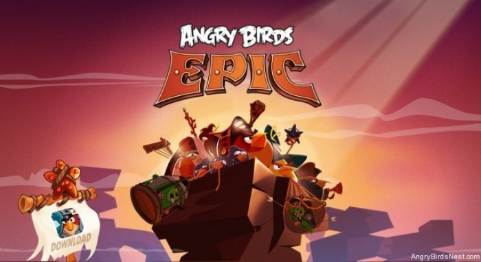 Angry Birds Epic на Android - популярная новинка от Rovio