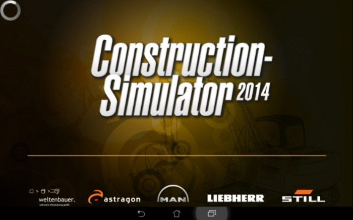 Взломоанный Construction simulator 2014 на андроид