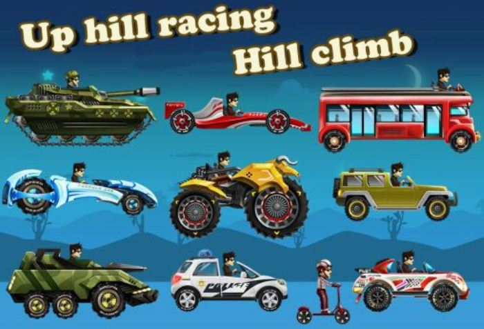 Скачать Up Hill Racing: Hill Climb на андроид