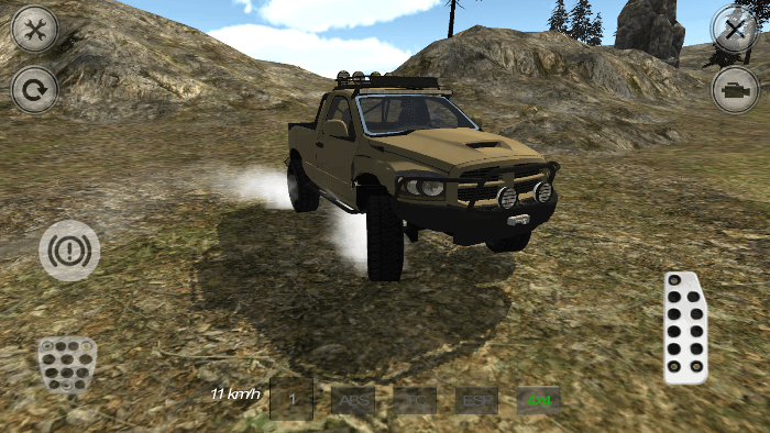 4x4 Mountain Racer для Android