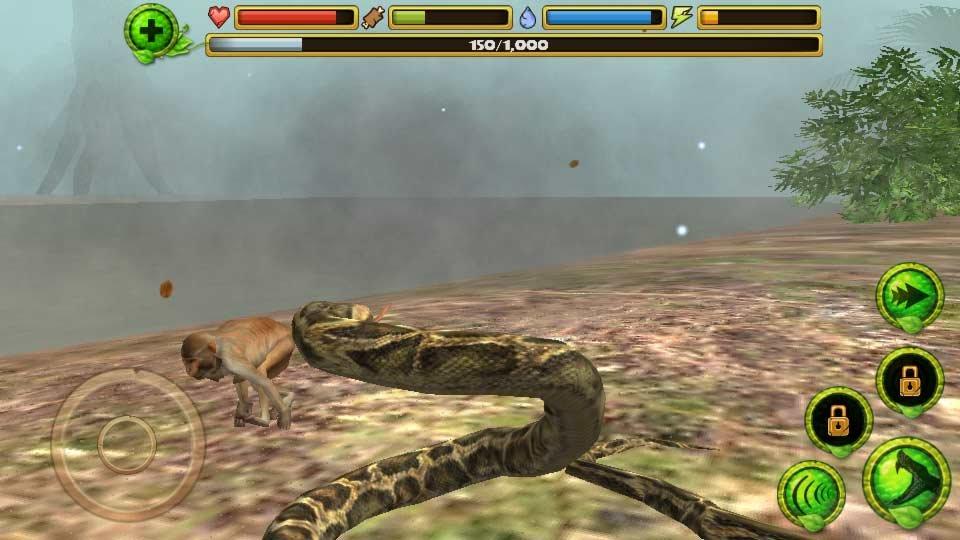 Скачать симулятор змеи для андроид