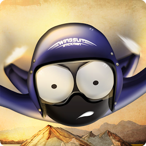 Мод Wingsuit Stickman для Android